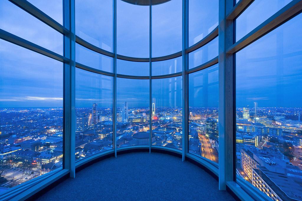 De Vestedatoren ontwikkeld door Vesteda Maastricht is een ontwerp van Jo Coenen Architects. De toren ligt midden in het uitgaansgebied van Eindhoven, het Stratumseind en is verkozen tot het mooiste woongebouw van Nederland