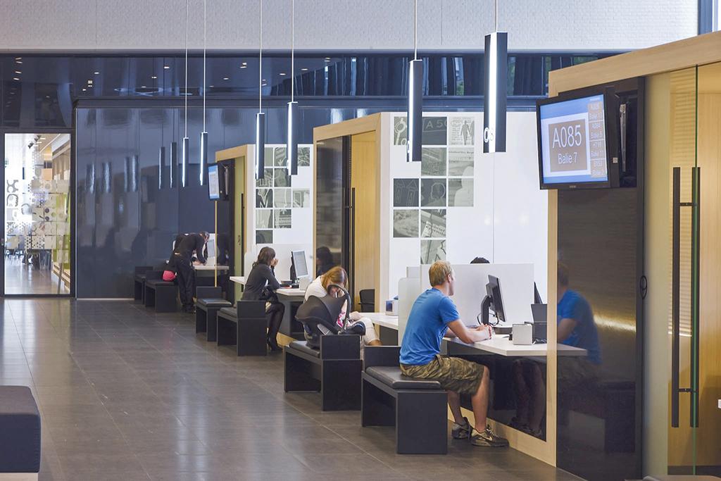 Gemeentehuis Oss, Renovatie en Nieuwbouw, Architectenbureau De Twee Snoeken Den Bosch.