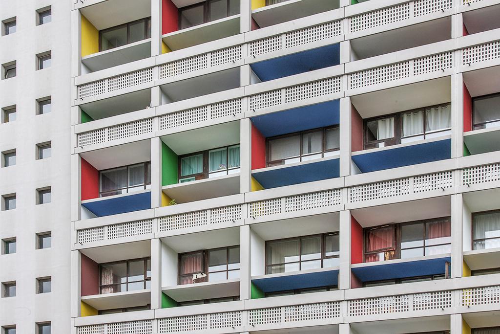 La Cit? Radieuse de Briey, Le Corbusier 1960, Unit? d? habitation de Briey, Lorraine France